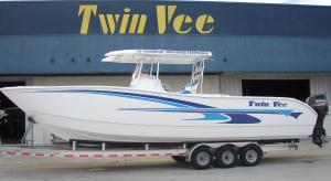 The All New 35' Twin Vee Hydrofoil Supported Catamaran